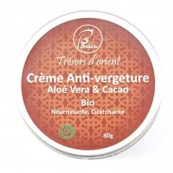 Crème Corporel Anti-vergeture Aloé vera Cacao 80g