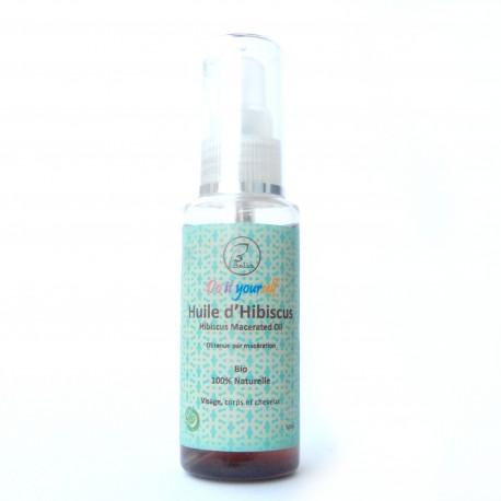 Huile Hibiscus bio et naturelle 60 ml
