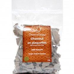 Ghassoul (Argile noir) en plaquette 200g