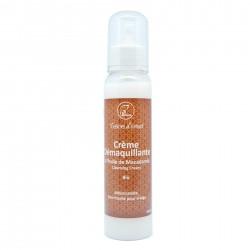 Crème démaquillante de macadamia parfumé à l'orange / cannelle Bio 50g
