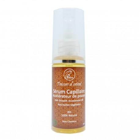 Sérum Accélérateur de pousse des cheveux aux huiles végétales bio et naturel 60ml