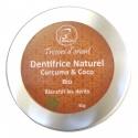 Dentifrice  Curuma coco bio et naturel Blanchit les dents
