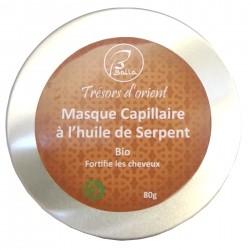 Masque Capillaire à L'huile de Serpent sans rincage bio et Végan 80g