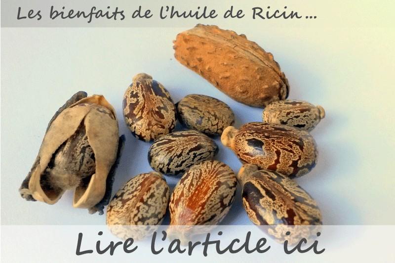 Les bienfaits de l'huile végétale de Ricin