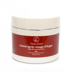Crème d'Argan après rasage ou épilation Bio 80g