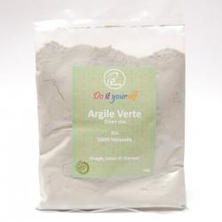 Argile verte en poudre Bio 100g