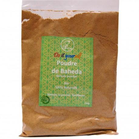 Poudre ayurvédique de Baheda 100g, Bio et naturelle