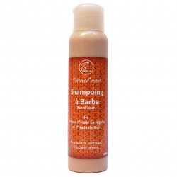 Shampoing à Barbe Bio Biphase 100 ml Ricin et Nigelle Parfum Bois de Cèdre