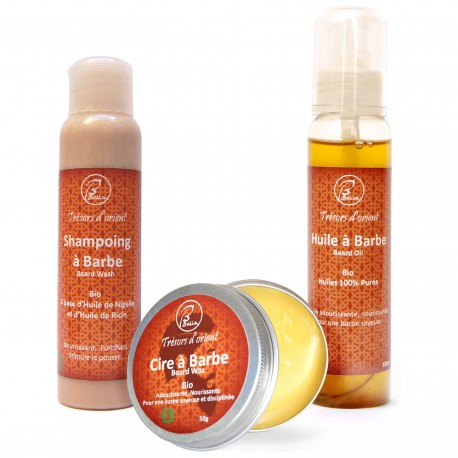 Kit Masculin soin pour barbe