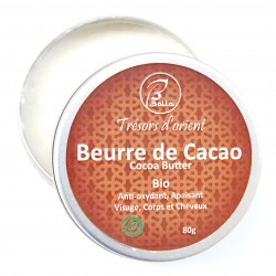 Beurre de cacao Bio 50g