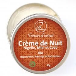 Crème de Nuit Fusion Nigelle,Miel coco 80g