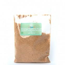 Poudre Exoliante à base d'argan bio et naturelle 100g