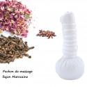 Pochon de Massage ayurvedique aux plantes bio et naturelles façon marocaine110g