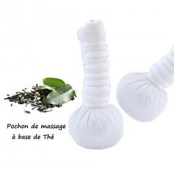 Pochon de massage à base de Thé X2 bio et naturel 110g