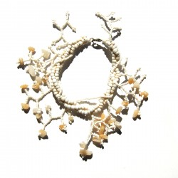 Bracelet en perle de rocaille 100% naturelle