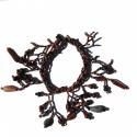 Bracelet en perles de rocaille Marrons 100% naturelles