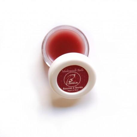 Baume à lèvres Aker fassi à l'Huile d'argan parfumé à la rose 5g