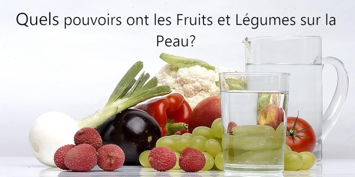 Les bienfaits des fruits et légumes sur la peau